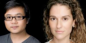 Carla Matoses(右) 和Panda Tan(左)