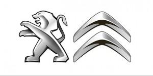 Peugeot-Citroen-Logos