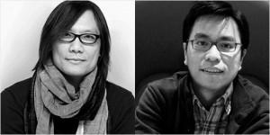 梅若俊(左)与张耀辉(右)