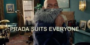 prada suit everyone