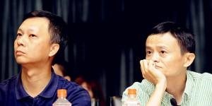 Ali s new CEO LU yaoxi with Mayun