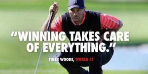 head Nike's New Tiger Woods Ad winning takes care of anything