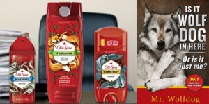 old spice announced mr wolfdog as excutive market director head