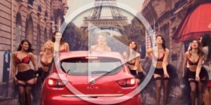 Renault Clio launches new va va voom campaign