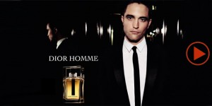 Dior Homme ad by Robert Pattinson-