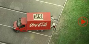 coca cola eat together