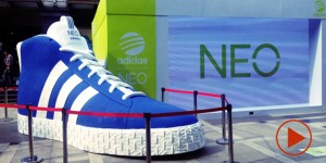 adidas NEO interactive OOH event
