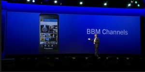 BlackBerry launching BBM Channels