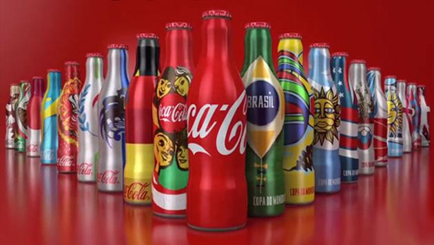可口可乐fifa世界杯主题营销