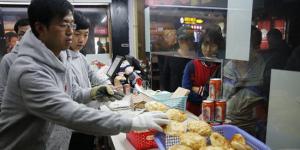Chinese hamburger new marketing methode