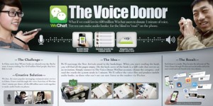 wechat launchwechat the voice donor