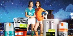 L'Oreal launches new campaign football baby