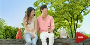 coca cola launches new tvc Kim Soo Hyun