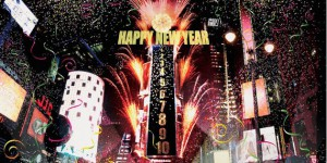 New Year in Times Square