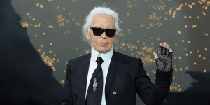 PARIS, FRANCE - MARCH 05:  Fashion designer Karl Lagerfeld acknowledges applause following Chanel Fall/Winter 2013 Ready-to-Wear show as part of Paris Fashion Week at Grand Palais on March 5, 2013 in Paris, France.  (Photo by Pascal Le Segretain/Getty Images)