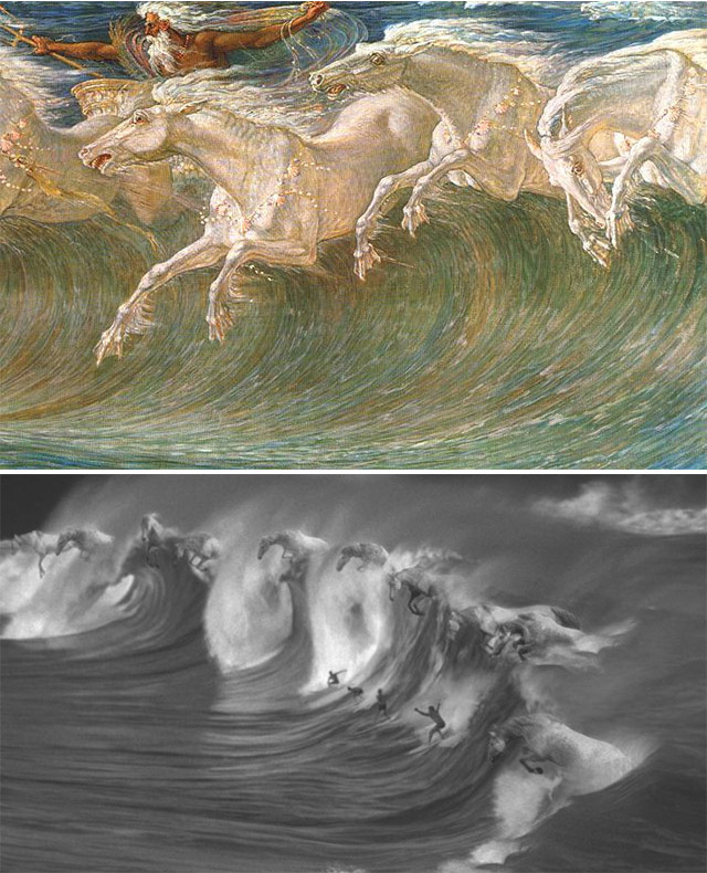 surfer and horseart