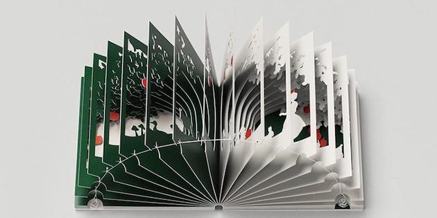 360 degree book Yusuke Oono-Snow White-2