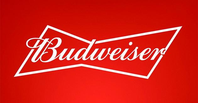 △百威啤酒扁平化新logo