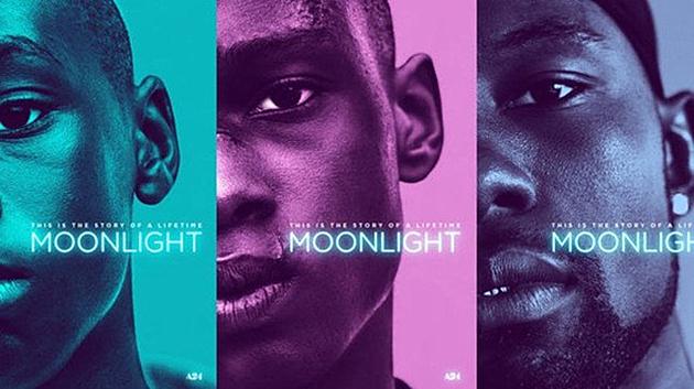 电影《月光男孩》海报封面