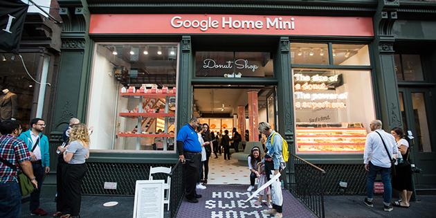 创意时尚 谷歌卖甜甜圈 亚马逊在卖酒