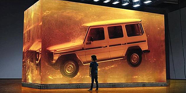 斥巨资打造「永恒」,奔驰全新g级广告大片真的很贵! 麦迪逊邦