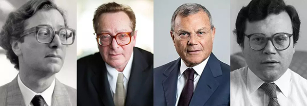 From Lord Maurcie Saatchi to Sir Martin Sorrell.webp