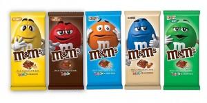M&M's首款巧克力棒
