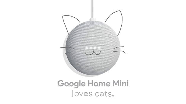 Google Home Mini Loves Cats 篇[00-02-24][20181229-151152962]
