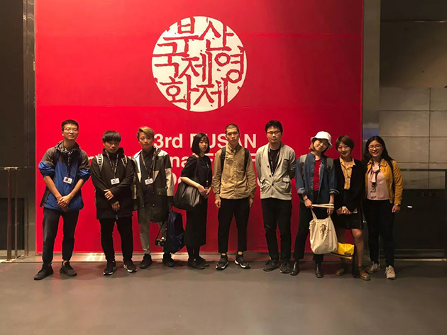 漫游主创在釜山国际电影节