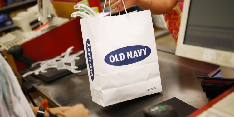 Shoppers At An Old Navy Store Ahead Of Consumer Comfort Figures