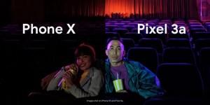 Google Pixel3a-ipone x-toutu