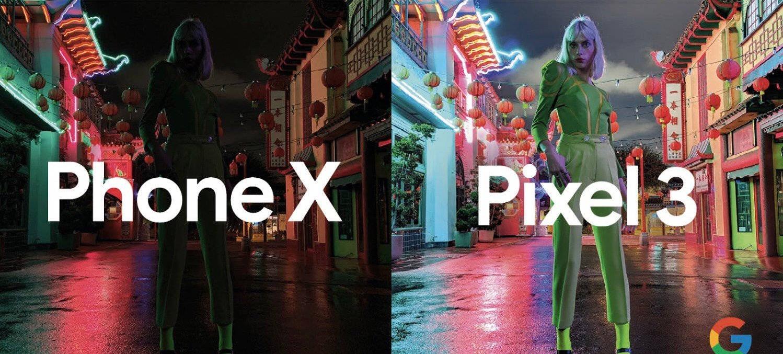 Google Pixel3a-ipone x