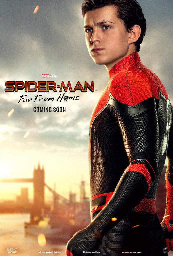 Spider-Man Far From Home-poster-1