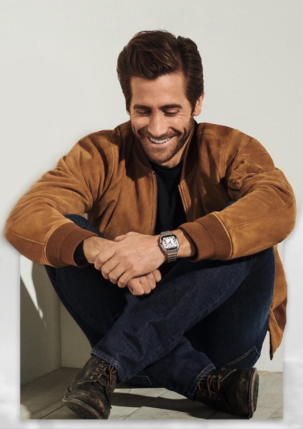 Cartier-Santos de Cartier-Jake Gyllenhaal-1