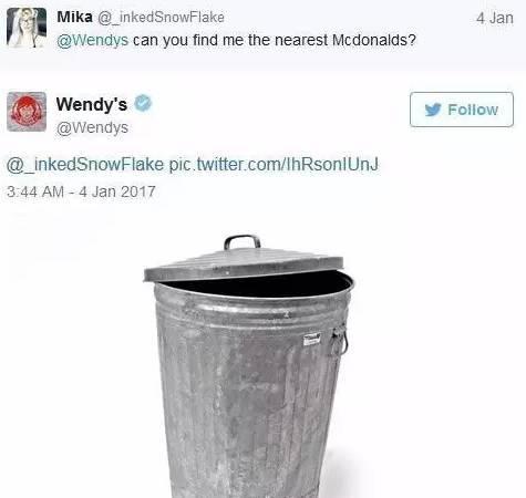Wendy's diss McDonald's