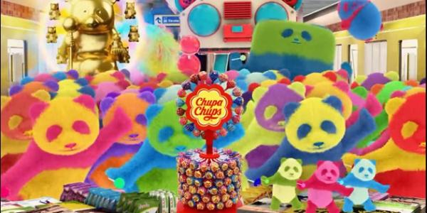 魔性珍宝珠广告,国宝熊猫集体变身